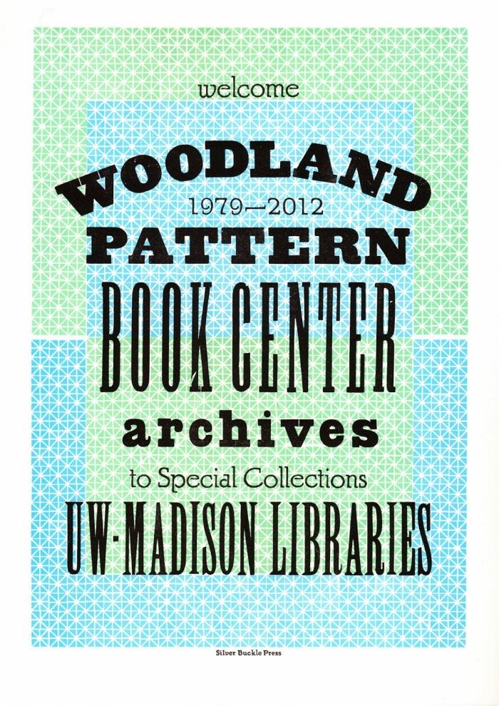Woodland Pattern Silver Buckle Press